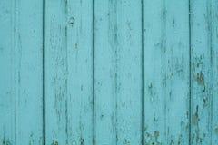 Fundo de madeira da parede das texturas cian velhas Fundo perfeito com espa?o imagem de stock royalty free