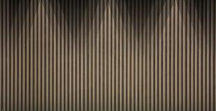 Fundo de madeira da parede do lath imagens de stock