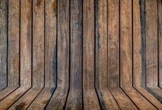 Fundo de madeira da parede do painel da textura Foto de Stock