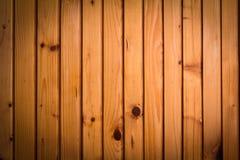 Fundo de madeira da parede em uma luz da manhã Fotos de Stock