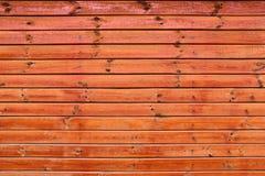 Fundo de madeira da parede da prancha Fotografia de Stock