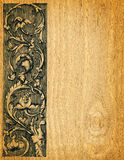 Fundo de madeira da placa fotografia de stock royalty free