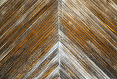 Fundo de madeira da porta Foto de Stock Royalty Free