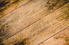 Fundo de madeira da tabela velha fotos de stock