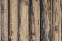 Fundo de madeira da textura de Brown Vintage, sumário, molde vazio fotografia de stock
