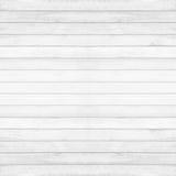 Fundo de madeira da textura da parede, cor cinzento-branca do vintage Fotos de Stock Royalty Free