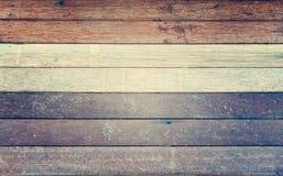 Fundo de madeira da textura da parede do marrom do branco cinzento - estilo do filtro do vintage imagem de stock