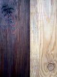 Fundo de madeira da textura da parede preto e branco Foto de Stock Royalty Free