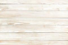 Fundo de madeira da textura de placas naturais do pinho Foto de Stock