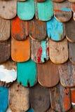 Fundo de madeira da textura do grunge abstrato foto de stock royalty free