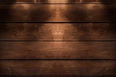 Fundo de madeira da textura do marrom da prancha Fotografia de Stock Royalty Free