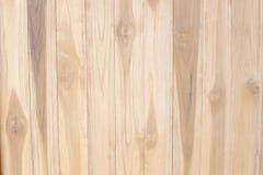 Fundo de madeira da textura do marrom da prancha Imagens de Stock
