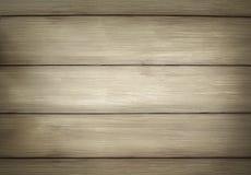 Fundo de madeira da textura do marrom da prancha Fotografia de Stock