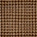 Fundo de madeira da textura do weave Fundo textured de madeira decorativo abstrato da cestaria Teste padrão sem emenda Foto de Stock