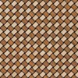 Fundo de madeira da textura do weave Fundo textured de madeira decorativo abstrato da cestaria Teste padrão sem emenda Fotos de Stock Royalty Free