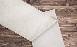 Fundo de madeira da textura e da matéria têxtil Imagem de Stock