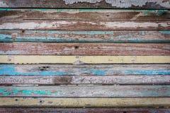 Fundo de madeira da textura, estilo do vintage Foto de Stock Royalty Free