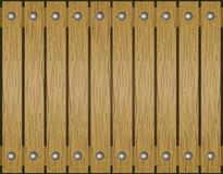 Fundo de madeira da textura Ilustração Fotografia de Stock