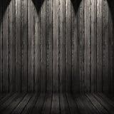 Fundo de madeira da textura parede e assoalho de madeira pretos Imagens de Stock