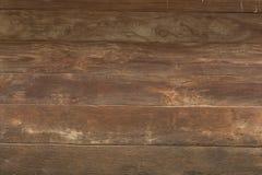 Fundo de madeira da textura da parede da prancha de Brown Imagem de Stock