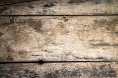 Fundo de madeira da textura. Prancha resistida do vintage Fotos de Stock Royalty Free