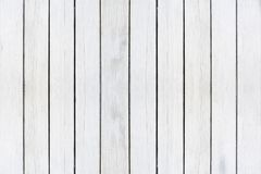 Fundo de madeira da textura, pranchas de madeira brancas Teste padrão de madeira lavado Grunge da parede Fotos de Stock