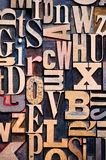 Fundo de madeira da tipografia imagem de stock royalty free