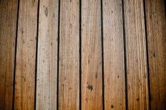 Fundo de madeira das pranchas da plataforma do navio de Grunge fotos de stock