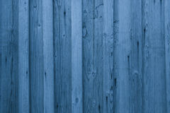 Fundo de madeira das pranchas de Airy Blue Textura de madeira azul da parede Imagem de Stock