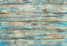 Fundo de madeira das pranchas do grunge verde-amarelo velho Imagens de Stock
