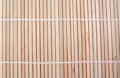 Fundo de madeira de bambu Foto de Stock