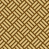 Fundo de madeira de bambu do vetor ilustração stock