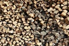 Fundo de madeira do log uel Colhendo a lenha para o inverno registrar imagem de stock royalty free