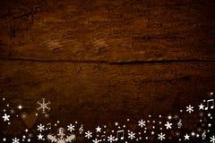 Fundo de madeira do Natal Imagens de Stock Royalty Free