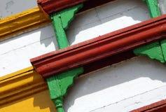 Fundo de madeira do projeto do objeto Imagem de Stock