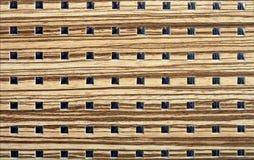 Fundo de madeira do projeto dos quadrados Fotos de Stock