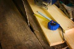 Fundo de madeira do trabalho Imagem de Stock