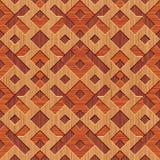 Fundo de madeira dos rhombuses Imagem de Stock