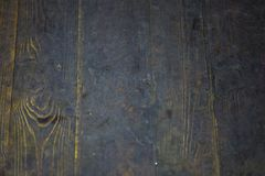 Fundo de madeira, madeira escura imagem de stock