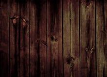 Fundo de madeira escuro Imagens de Stock Royalty Free