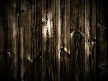 Fundo de madeira escuro Fotografia de Stock