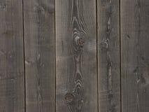 Fundo de madeira escuro natural Imagens de Stock Royalty Free