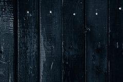 Fundo de madeira escuro Placas de madeira velhas Textura Fotografia de Stock