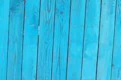 Fundo de madeira estrutural brilhante azul Imagem de Stock Royalty Free