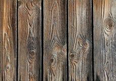 Fundo de madeira feito dos painéis velhos Fotografia de Stock