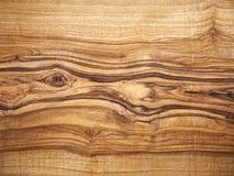 Fundo de madeira, madeira verde-oliva, grão de madeira Imagens de Stock