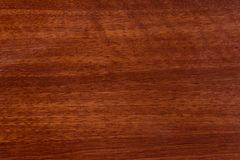Fundo de madeira marrom bonito na madeira compensada textured envernizada imagens de stock