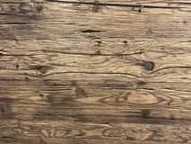 Fundo de madeira marrom natural vazio imagens de stock royalty free