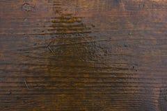Fundo de madeira molhado Fotografia de Stock Royalty Free