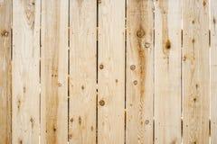 Fundo de madeira novo da cerca Fotografia de Stock Royalty Free